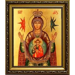 Знамение. Икона Божьей Матери с ангелами.