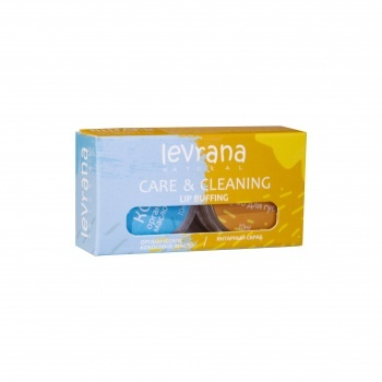 Скраб+органическое масло для губ CARE & CLEANING, 10+10 гр Levrana