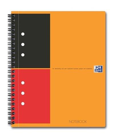 Бизнес-тетрадь International NoteBook A5+ (16.9*21см) линейка 80л твердая обложка
