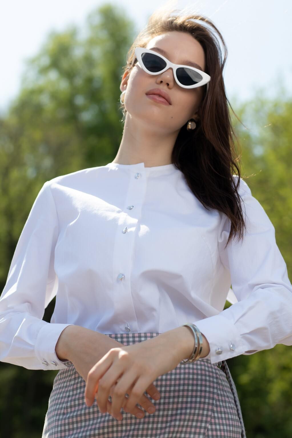 Рубашка с бантиком на спине