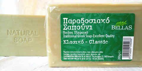 Мыло с оливковым маслом Bellas 200гр
