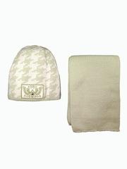 Комплект зимний шапка и шарф для мальчика