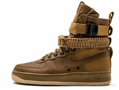 Nike-Air-Force-1-SF-Brown-Krossovki-Najk-Аir-Air-Fors-1-SF-Korichnevye