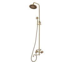 Комплект двухручковый для ванны и душа Bronze de Luxe 10121DF/1