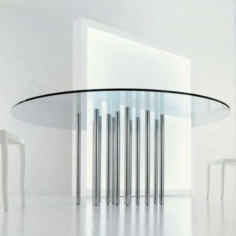 replica table BONALDO MILLE GLASS ( by Steel Arts)