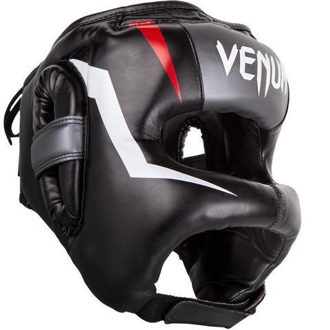 Шлем Venum Elite Iron Headgear Black/Red