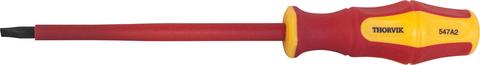 Отвертка шлицевая диэлектрическая VDE 1000 v SL2.5x75 мм