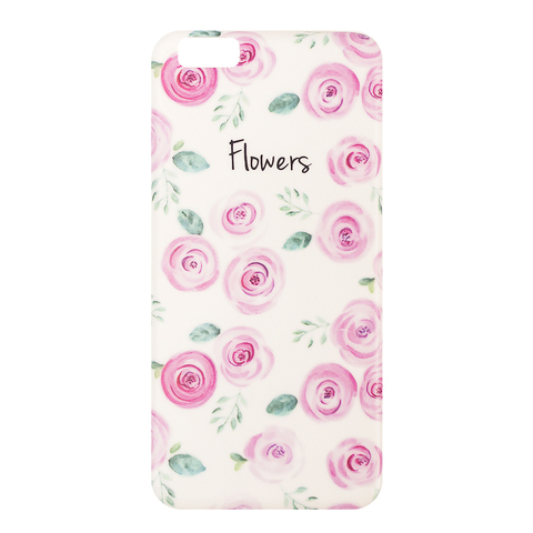 Чехол на IPhone 6 Plus Flowers