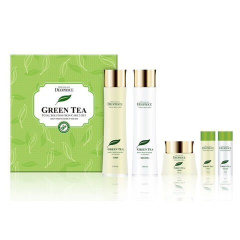 PREMIUM DEOPROCE GREENTEA TOTAL SOLUTION 3 SET