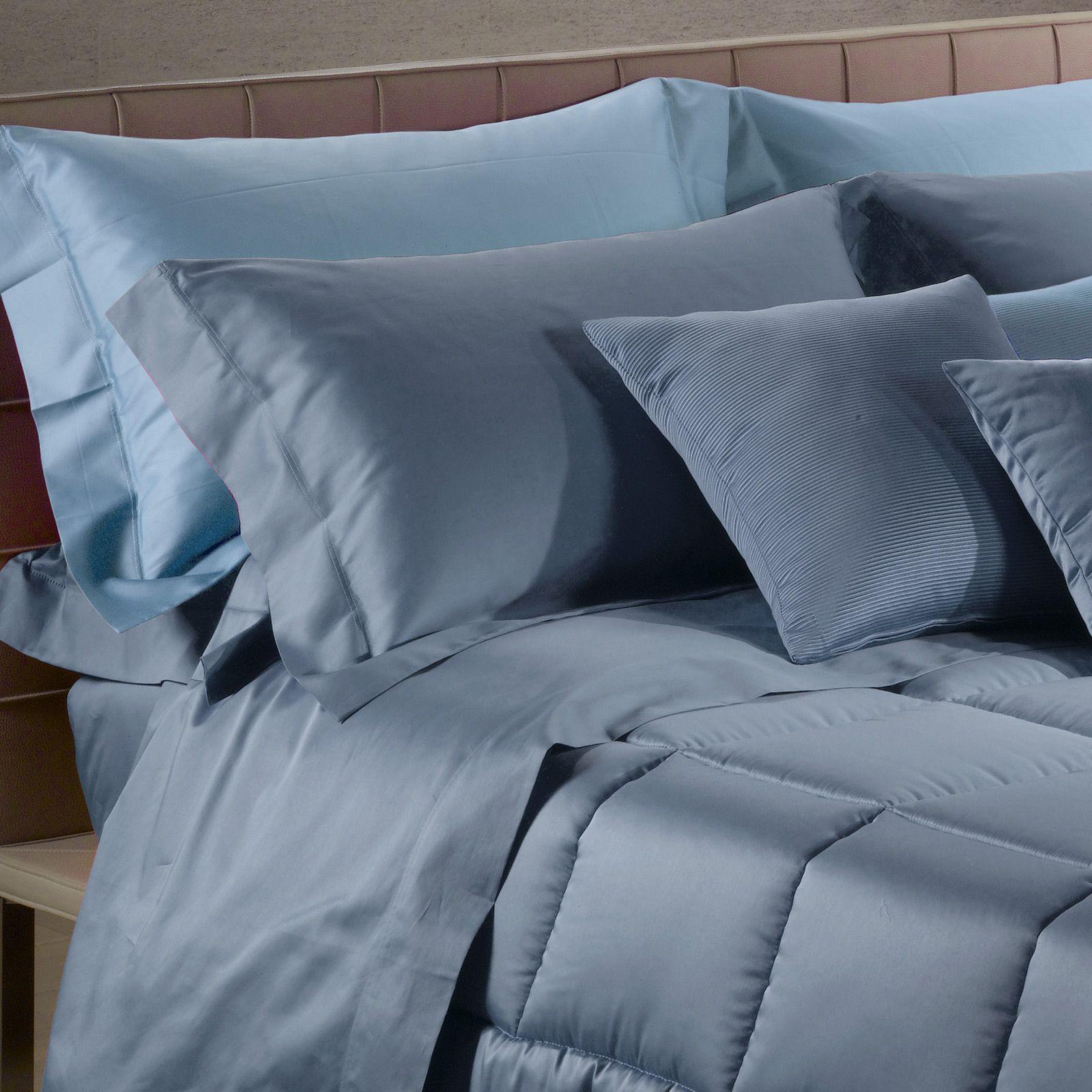 Для сна Наволочки 2шт 70x70 Caleffi Raso Tinta Unito синие komplekt-navolochek-caleffi-raso-tinta-unito-siniy-italiya.jpg