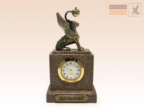 часы Грифон - Гранит