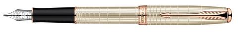 Перьевая ручка Parker Sonnet F535 Feminine Silver PGT123
