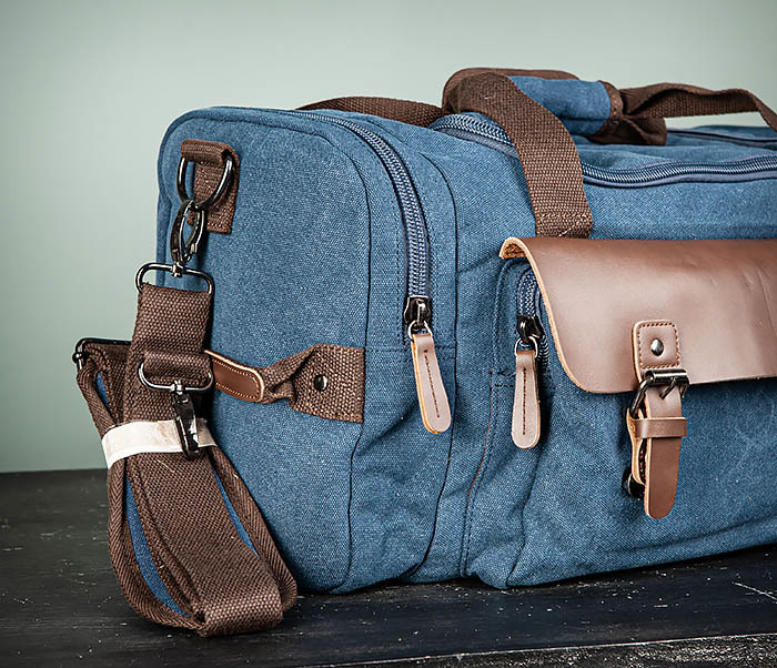 BAG502-3 Дорожная сумка для ручной клади средних размеров фото 03