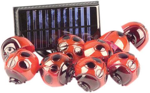 Светильник садово-парковый на солнечной батарее, 9 белых LED, CD881 (Feron)