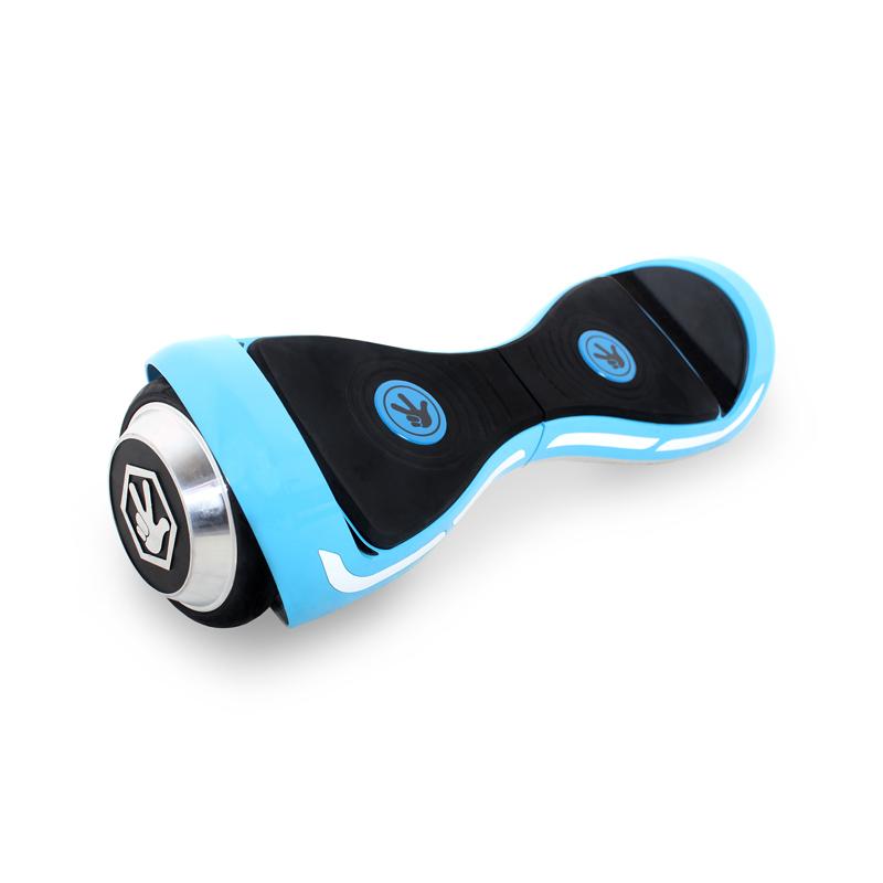 Hoverbot Фиксиборд голубой (Bluetooth-музыка + сумка + защита)