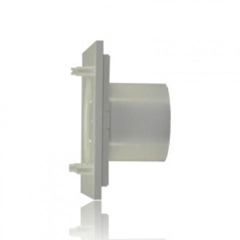 Вентилятор накладной S&P Silent 300 CHZ Plus Design 3C Silver (таймер, датчик влажности)