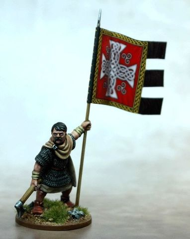 Welsh War Banner & Bearer