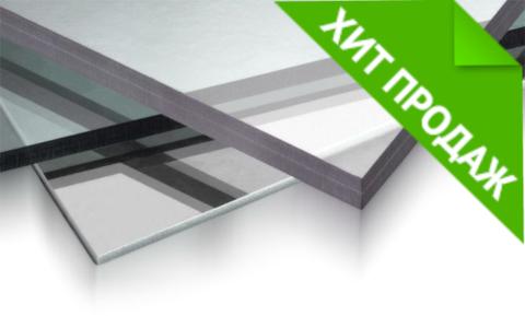 Монолитный поликарбонат Carboglass прозрачный 2,05х3,05 3 мм