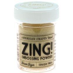 Пудра для эмбоссинга ZING! Brown Shugar