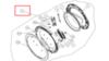 Люк в сборе (стекло люка в сборе с обрамлением) для стиральной машины Beko (Беко) 2411100600
