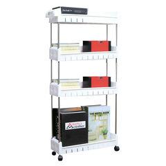 Стеллаж напольный выдвижной Storage Organizer (4 яруса)