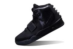 Мужские Кроссовки Nike Air Yeezy 2 All Black