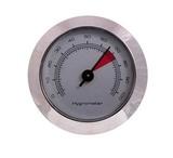 Гигрометр механический 49 мм, серебро, 606