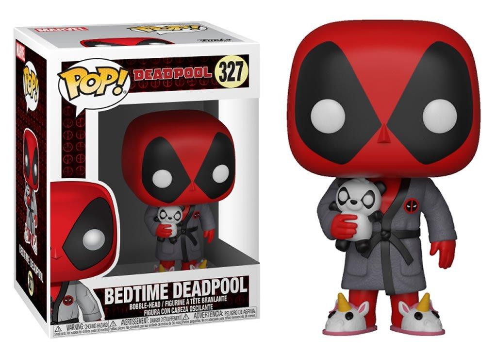Фигурка Funko POP! Bobble: Marvel: Deadpool Playtime: Deadpool in Robe 31118
