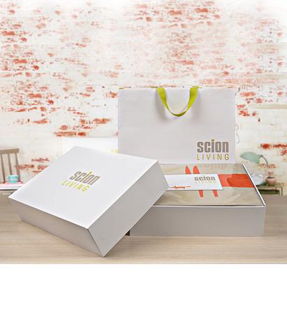 Подарочная упаковка для постельного белья, Scion