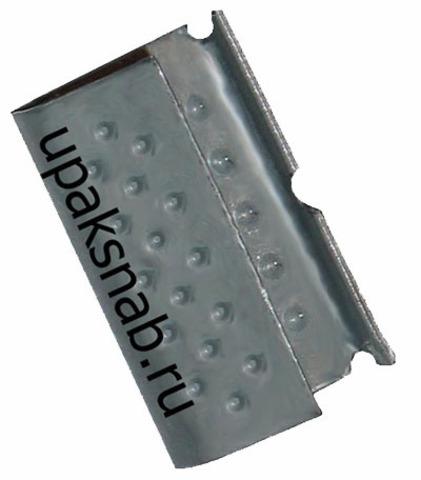 Скрепа 16, для ленты ПП 15мм, оцинкованная