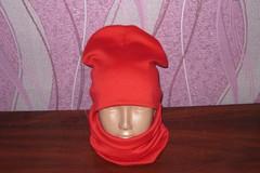 Детский комплект шапка и хомут
