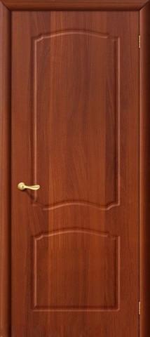 Дверь Дера Азалия, цвет итальянский орех, глухая