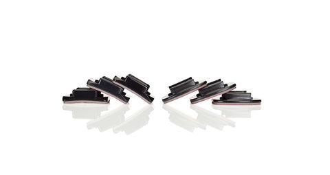 Curved + Flat Adhesive Mounts - Плоские и изогнутые клеющиеся платформы
