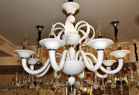 murano chandelier  SYLCOM 11-03  by Arlecchino Arts ( HK)