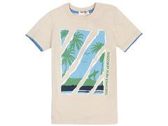 702-23 футболка детская, бежевая