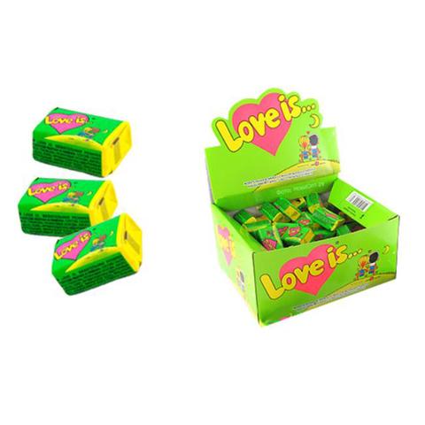 LOVE IS жевательная резинка Яблоко и Лимон 20х1 (100*4,2г)