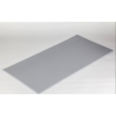 негорючая  акустическая панель ECHOTON FIREPROOF 100x50x1cm  из материала  BASOTECT серый