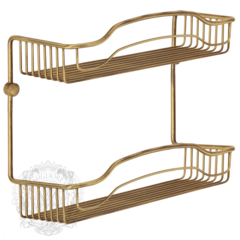 Решетка большая двойная Migliore Complementi H40xL40xP15 cm ML.COM-50.702