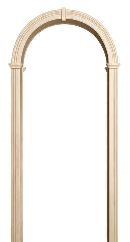Арка межкомнатная ПВХ Лесма, Валенсия, цвет беленый дуб