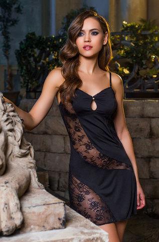 Сорочка женская с кружевом  MIA-MIA Elegance de lux  ЭЛЕГАНС 12034