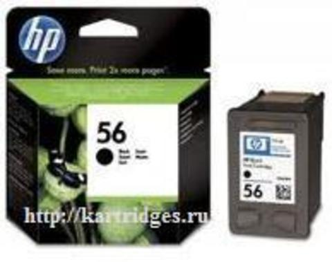 Картридж Hewlett-Packard (HP) C6656A №56