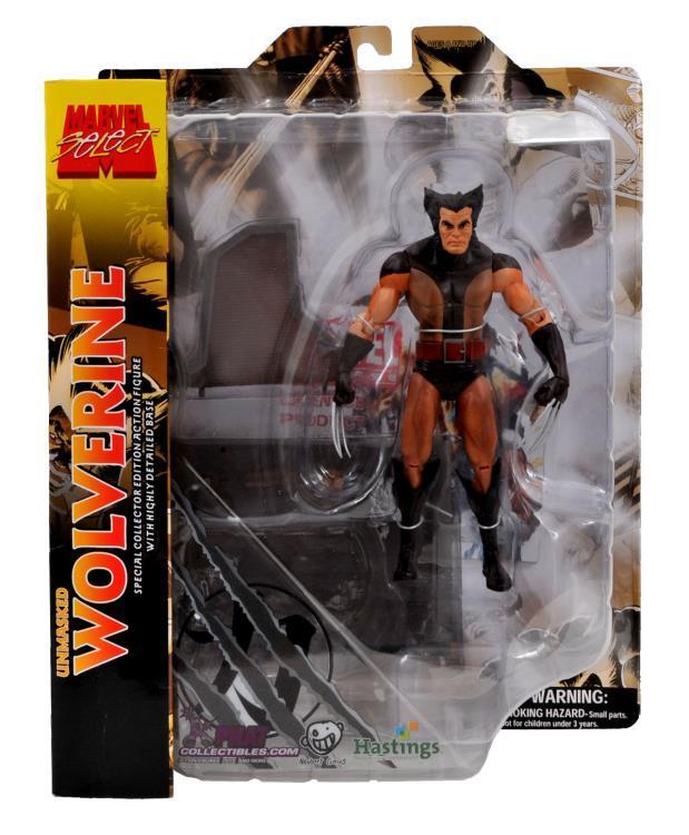 Росомаха (без маски) - Marvel Select Classic
