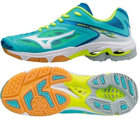 Mizuno WAVE LIGHTNING Z3 Арт. V1GC1700 (04) женские волейбольные кроссовки