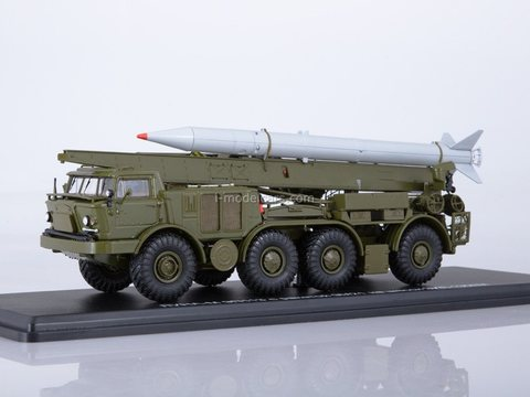 ZIL-135LM LUNA-M 9P113 with missile 9M21 1:43 Start Scale Models (SSM)