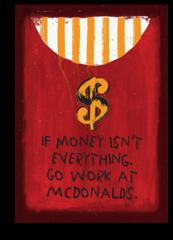 """Постер """"Голодные Деньги"""""""