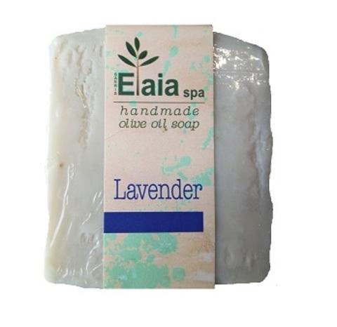 Греческое мыло ручной работы Лаванда Elaia spa 100 гр.