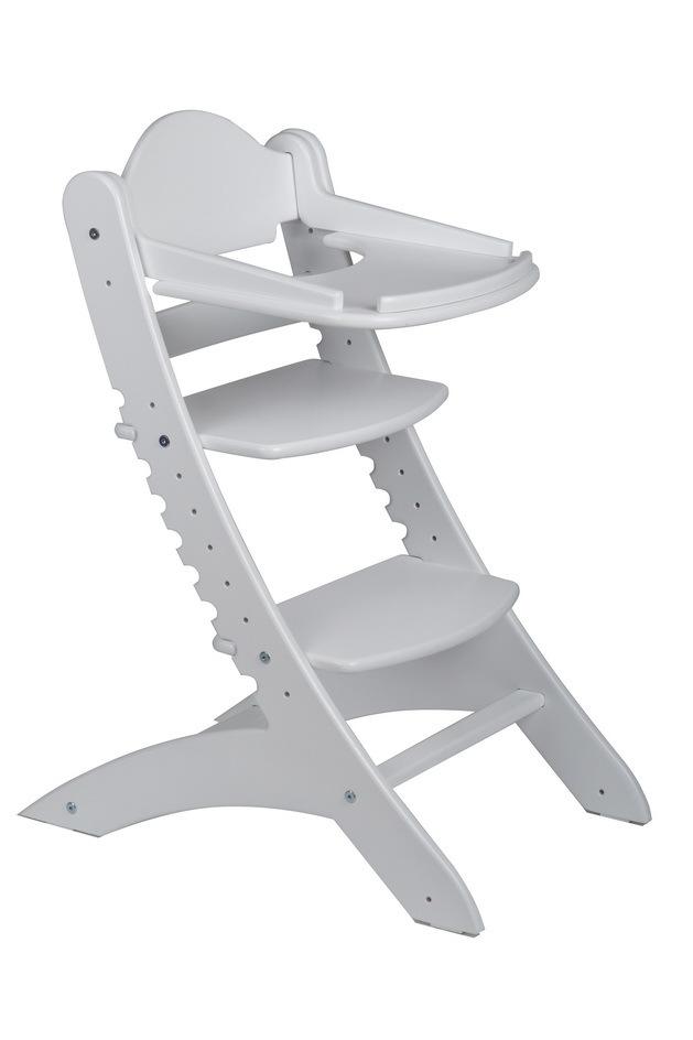 Столик для растущего стула «Два кота» белый
