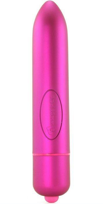 Классические: Ярко-розовый вибратор RO-160 - 16 см.