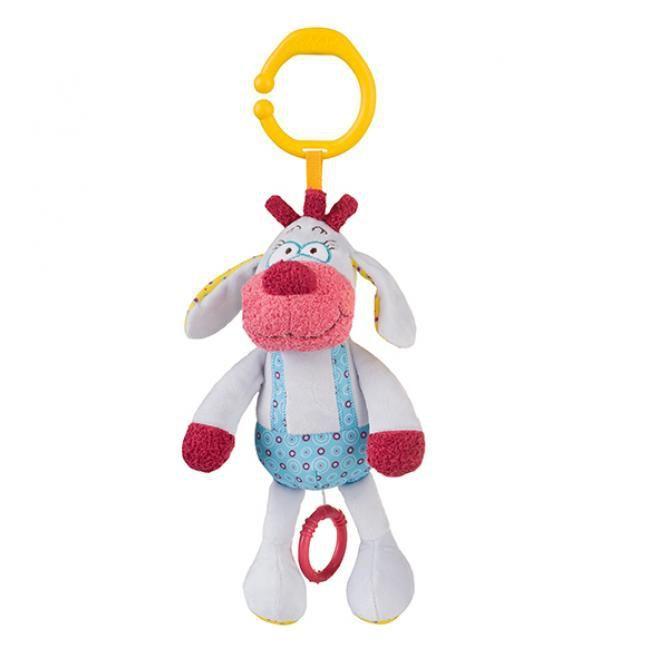 BabyOno игрушка с вибрацией велюровая Щенок Simon