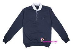 1609  свитер ворот рубашка 2